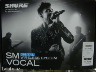 Bakı şəhərində Shure mikrofon satilir