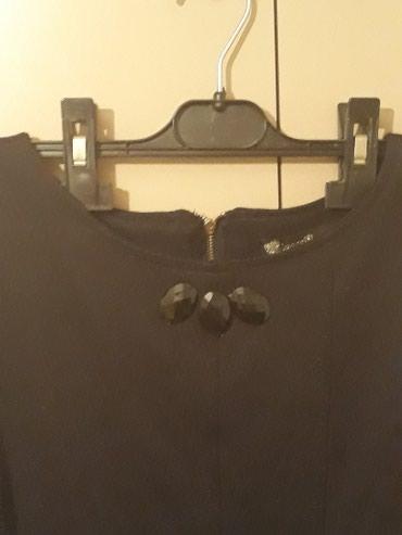 Haljine | Sopot: Divna crna haljinica s/m veličina, 70% veštačka svila, 25% poliestar