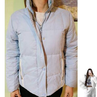 Duga zimska jakna - Srbija: ❄ Champion topla jakna, prava za zimu i sneg. S/M vel.Boja svetlo