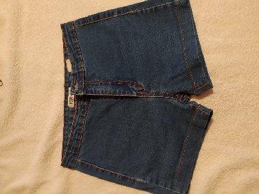 размер 26 27 в Кыргызстан: Клёвые джинсовые шорты на лето, размер 42(26-27)