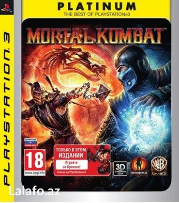 """Bakı şəhərində """"Mortal Kombat"""" Ps 3 oyunu"""