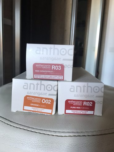 Антоцианин-стойкая краска для волос из Южной Кореи. Яркая и очень стой