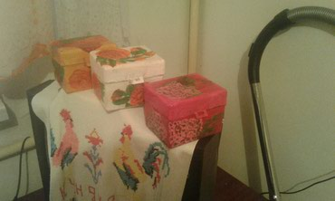 Продаю шкатулки ручная работа в Бишкек