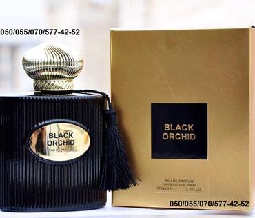 Bakı şəhərində Tom Ford Black Orchid Eau De Parfum Kişi ətrinin dubay versiyası
