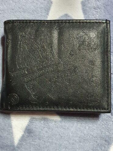 Novcanik za kartice - Srbija: Novcanik kupljen u HMu Svajcarskoj.Ne koristen,ima 4 pregrade za