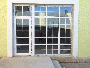 Окна, двери - Бишкек: Окна,Пластиковые, алюминиевые окна,двери и витражи. Профиль турецкий