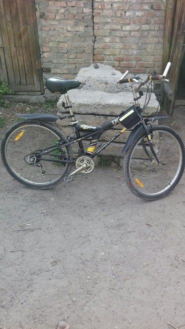 продам велосипед превезен с кареи все работает идеально резина новая,т в Бишкек