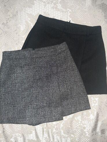 Женская одежда - Кыргызстан: Продаются Юбка-шорты.Почти новые.Каждая по 499.Если вместе будете