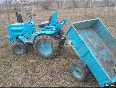 lafet - Azərbaycan: Mini traktor T-12Traktor yaxsi vezyetde di ustunde butun aqreqatlari