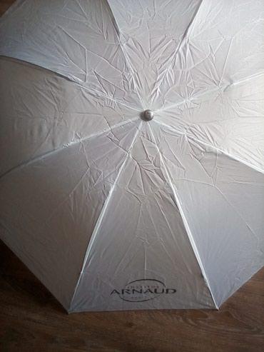Bakı şəhərində Зонт женский, абсолютно новый, идеально подходит для лета.Цвет белый.