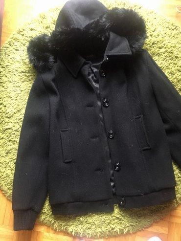 Nicola's jakna nova, od vune za zimu, sa kapuljacom sa krznom - Belgrade