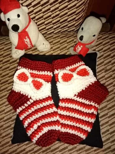 Čarape za bebe, ručni rad