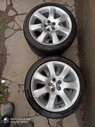 Диски Тойота r17 5*100 в отличном состоянии, диски без шин