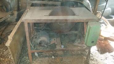 пилорама ссср в Кыргызстан: Продам пилораму кругляк. Использовалась мало. Двигатель 5,5 Квт, 3000