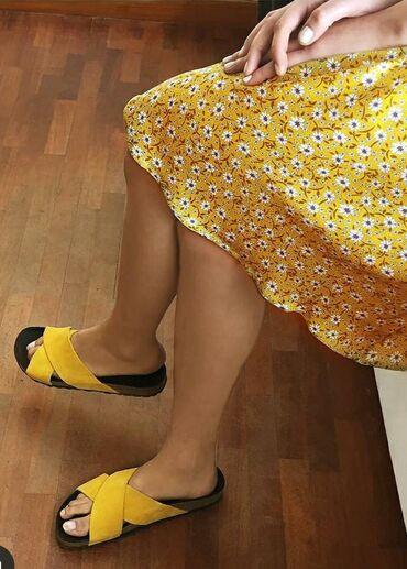 Ženska obuća | Ruma: Esprit papuce NOVO 38 prevrnuta koza!