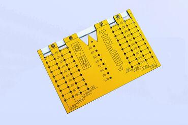 Мебельный шаблон кондуктор МШ-22.Шаблон для разметки отверстий под