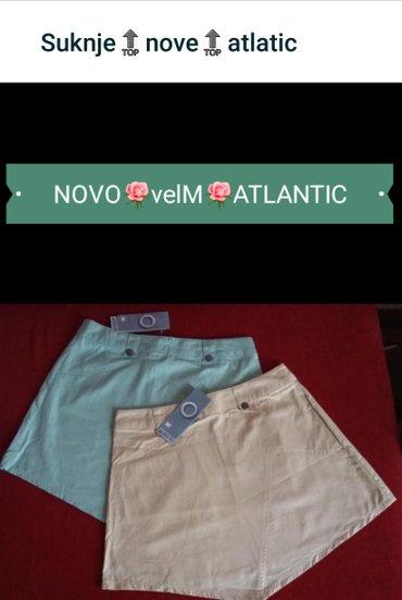 Suknje ATLANTIC NOVO velivine M boje: mint zelena i bez - Trstenik