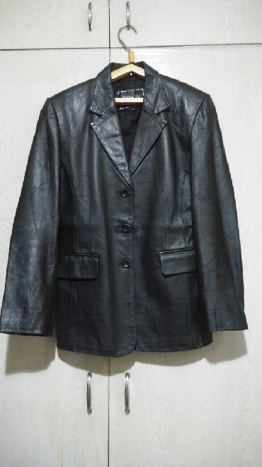 тёплую кожаную куртку в Кыргызстан: Продаю кожаную куртку. Размер 48-50