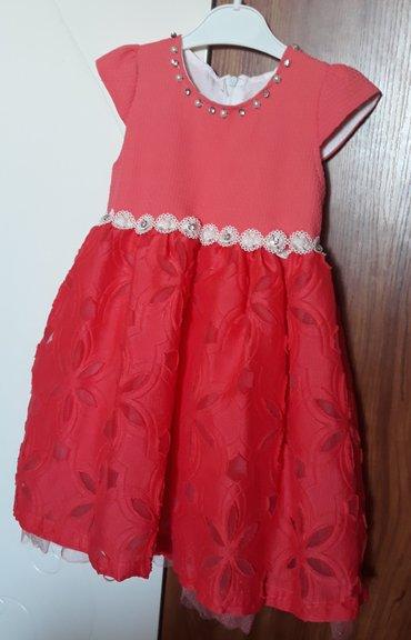 Размер 3/4 года. Шикарное платье на в Бишкек