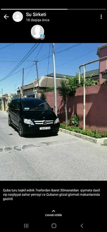 Sərnişin daşımaları - Azərbaycan: Vip Viano daşıyıcı yüksək kanfort