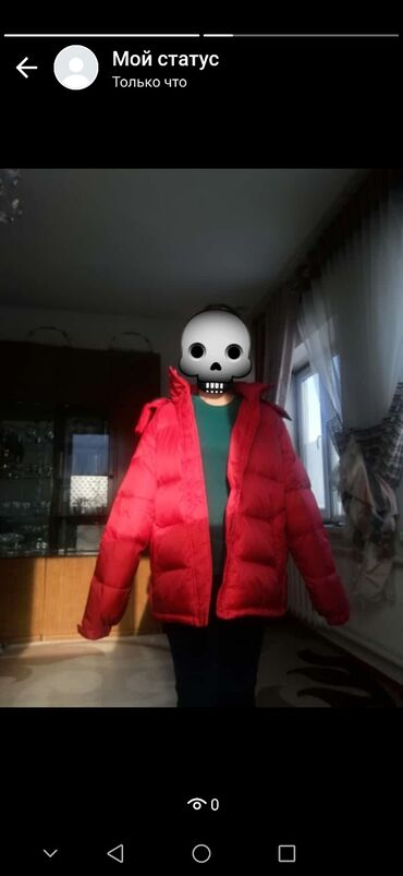 мужская одежда для спортзала в Кыргызстан: Куртка  мужская одежда  размер 46-44  новая тёплая качественная %%%