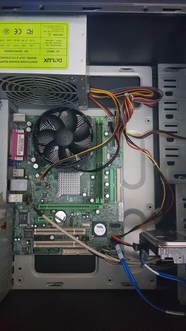 Системный блок Материнская плата biostar 775 сокетПроцессор intel