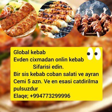 Global kebabOnline cattirilmaToyug kebabi ve coban salati ayran cemi