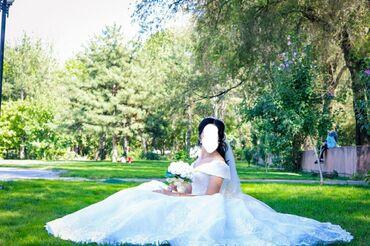 Личные вещи - Ак-Джол: Продаю свадебное платье на корсете.Было использовано единожды. Идёт