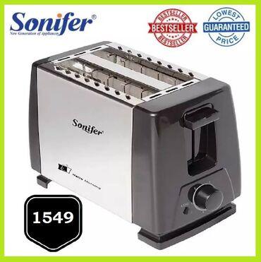 Toster Sonifer SF-6007 / Tost hleb 600-700W   Sa dva proreza - Izrađen
