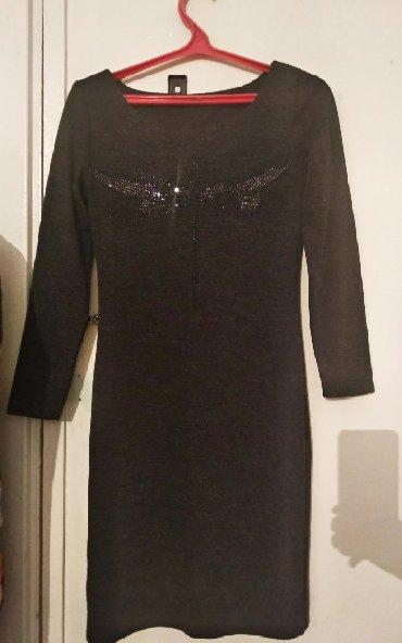 шуба до колени в Кыргызстан: Платье до колен. Отличное качество. Размер S
