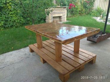 Журнальные и кухонные столы из дерева и эпоксидной смолы в Лебединовка
