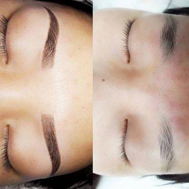 Девушки перманентный макияж акция   в Кант