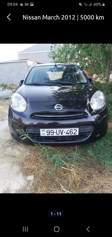 Nissan Azərbaycanda: Nissan March 1.2 l. 2012