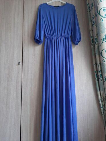 Новое вечернее платье ни разу не носились шифон размер 42 44 46