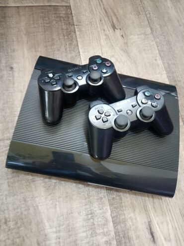 ps-3-games в Кыргызстан: PlayStation 3 Super Slim 500 GB. Приставка прошита (Hen 4.86)