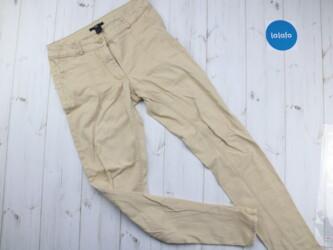 Женские брюки H&M Цвет: бежевый Длина: 94 см Пояс: 36 см Материал