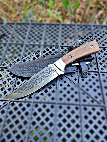 Ножи ручной работы, производство Кизляр, сталь х12мф. Подходят для
