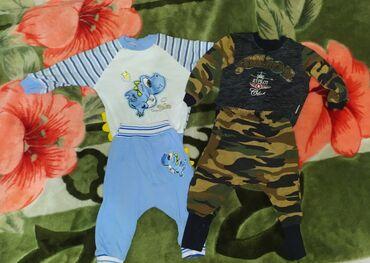 детские костюмчик в Кыргызстан: Детские костюмчики. Состояние отличное. Возраст 3-6 месяцев