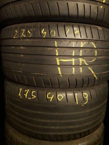 275 40 r20 резина в Азербайджан: Alman tekerleri 275-40-19