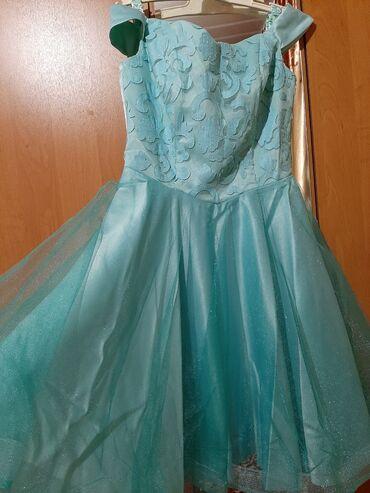 Продам платье, бирюзового цвета. Состояние отличное, одевали 1 раз. Ра