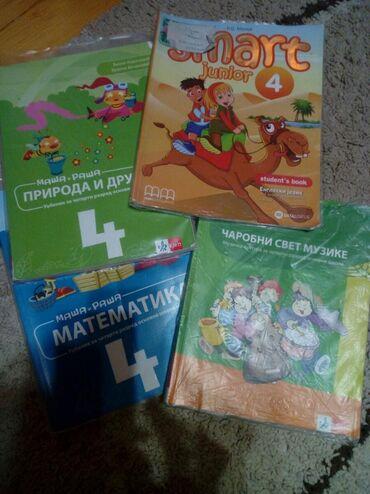Knjige, časopisi, CD i DVD | Pancevo: Udzbenici i radni listovi za 4.razred,izdavac klett. Engleski acronolo