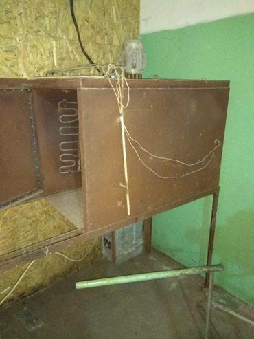 Термотоннель, или гриль. Можно делать козу гриль. Трехфазный в Бишкек