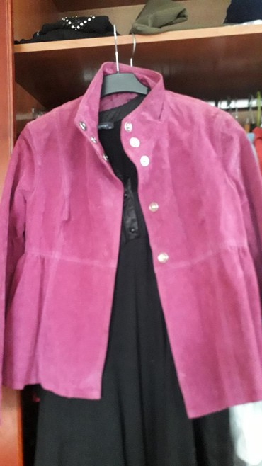 Kozna jakna.. lep model velur  brl bez greske - Crvenka