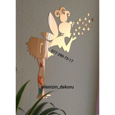 Bakı şəhərində Guzgu dekor melek