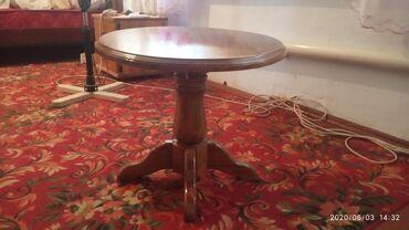 Продам журнальный столик,карагачцена 4000сомКара-балта тел