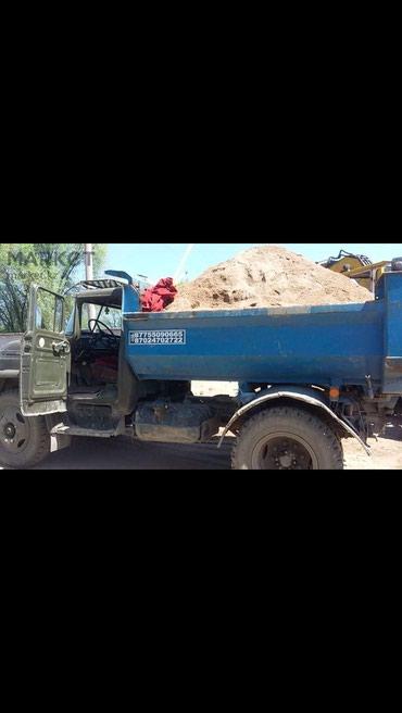 Песок,Гравий,Камни,Глина Чернозем доставка! в Бишкек