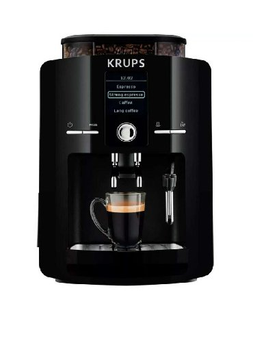 капсульная кофемашина krups nescafe в Кыргызстан: Автоматическая кофемашина Krups EA82f010, производства Франции, в