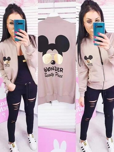 Maslinasto zelena jakna - Srbija: Wonder Disney duks jaknice NOVO SA ETIKETOM!* Nova Kolekcija *Dostupne
