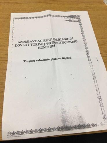 hektar - Azərbaycan: Satış 100 sot Digər təyinatlı mülkiyyətçidən