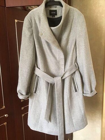 Пальто обсалютно новое полушерстяное размер 46-48